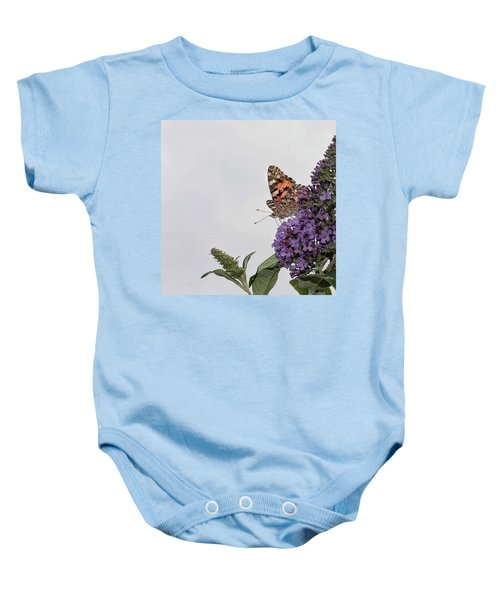 Painted Lady (vanessa Cardui) Baby Onesie