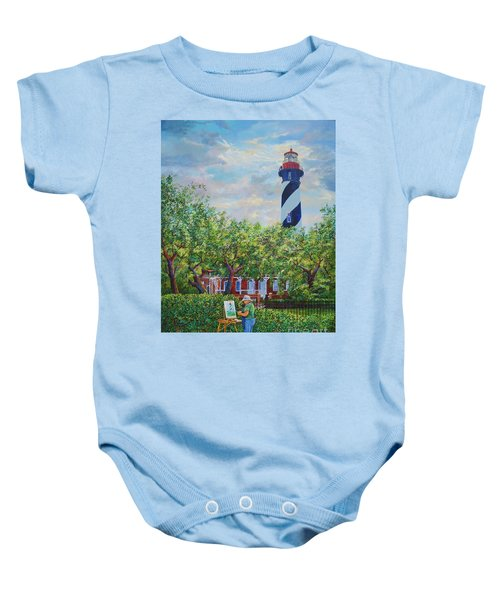 Painting The Light Baby Onesie