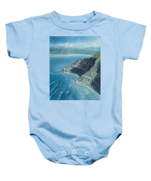 Palos Verdes Autumn Morning, No. 1 Baby Onesie