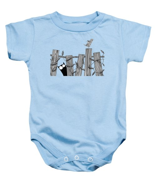 Paper Bird Baby Onesie by Andrew Hitchen