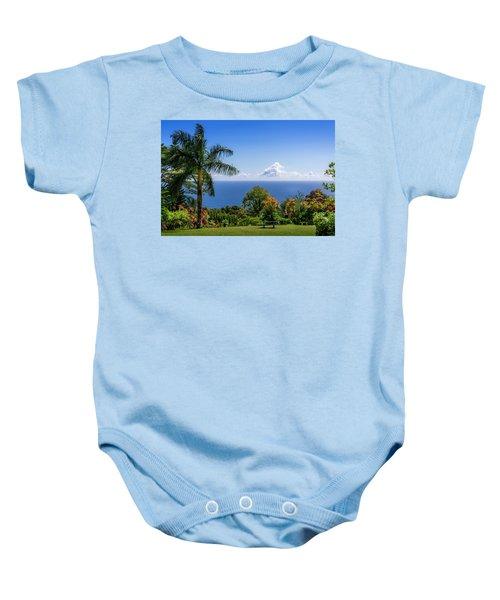 Paradise Picnic Baby Onesie