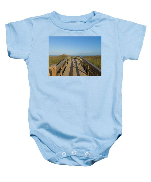 Path To Happiness Baby Onesie