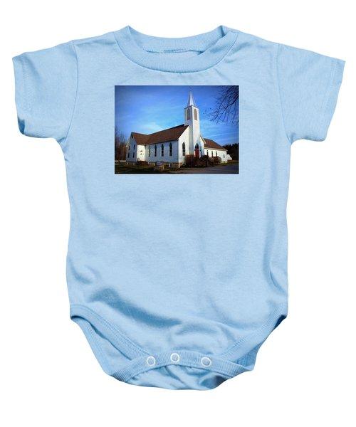 Peace Church Baby Onesie