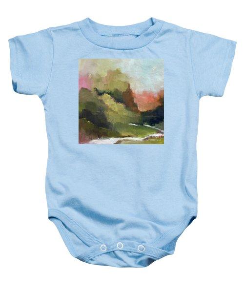 Peaceful Valley Baby Onesie