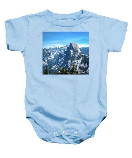 Peak Of Half Dome- Baby Onesie