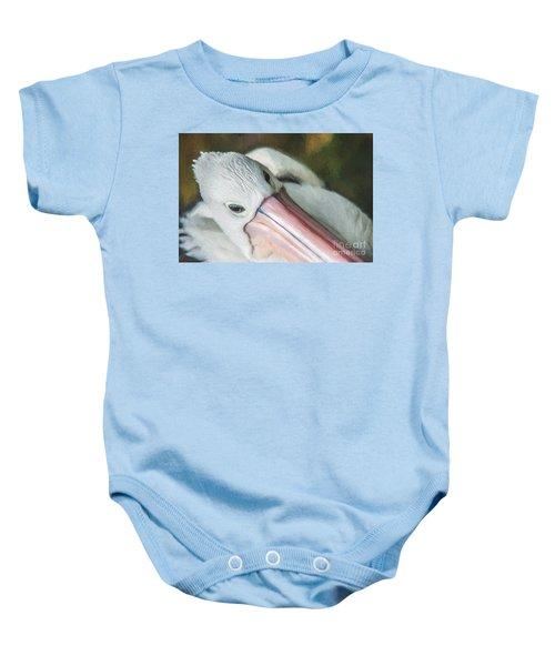 Pelican Brief   Go6 Baby Onesie