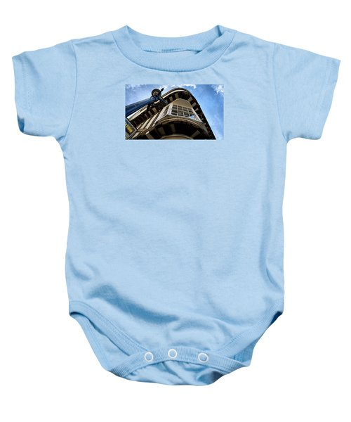 Baby Onesie featuring the photograph Perspective by Pedro Fernandez