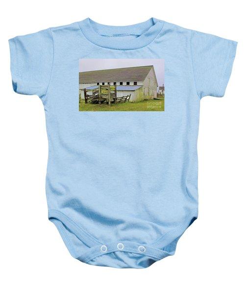 Pierce Pt. Ranch Barn Baby Onesie