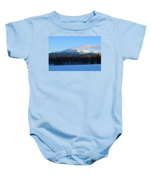 Pikes Peak From Cr511 Divide Co Baby Onesie