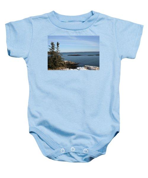 Pine Coast Baby Onesie