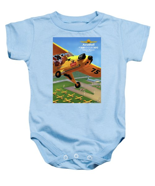 Piper Aircraft Poster  Baby Onesie