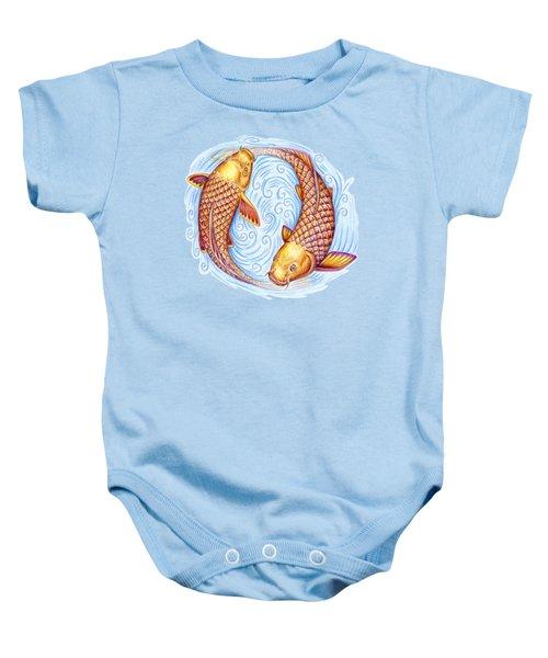 Pisces Baby Onesie