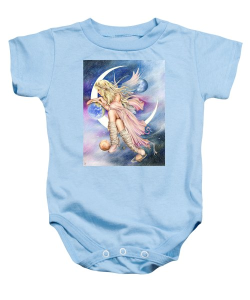 Planets Of The Universe Baby Onesie