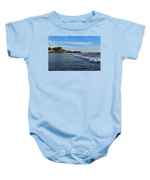 Poneloya Beach Before Sunset Baby Onesie