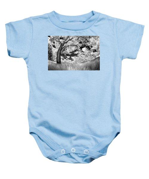 Poplar On The Edge Of A Field Baby Onesie