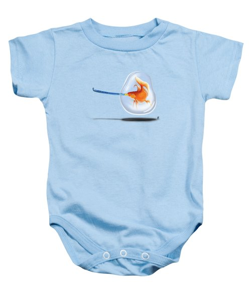 Popper Wordless Baby Onesie by Rob Snow