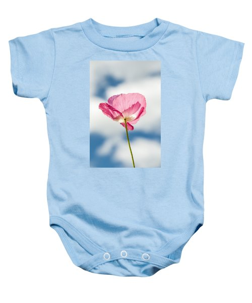 Poppy In The Clouds Baby Onesie