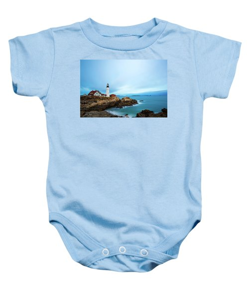 Portland Head Light 1 Baby Onesie