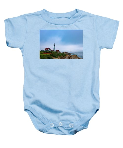 Portland Head Lighthouse Baby Onesie