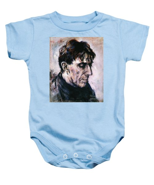 Portrait Of John Cale Baby Onesie