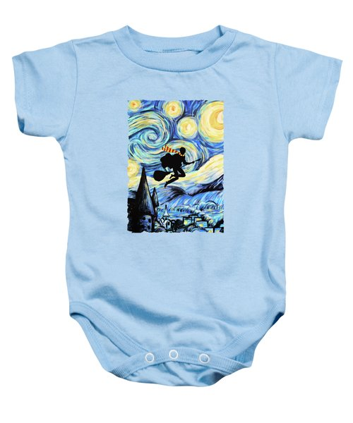 Potter Starry Night Baby Onesie