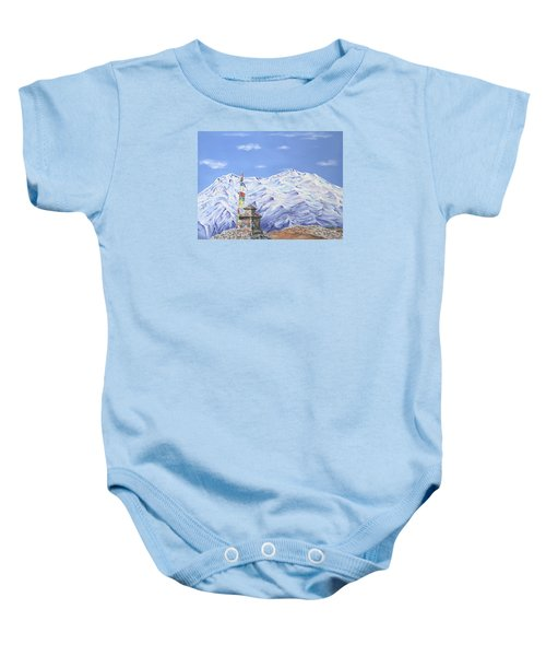 Prayer Flag Baby Onesie