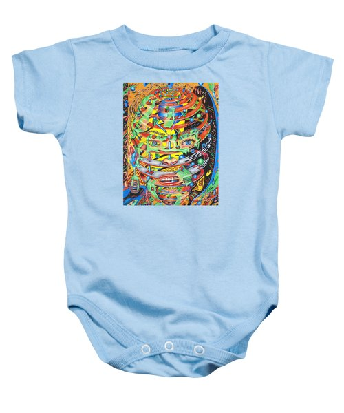 Primordial Inception Of Life At Daybreak Baby Onesie