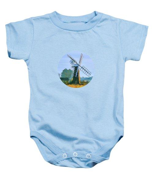 Priory Windmill Baby Onesie