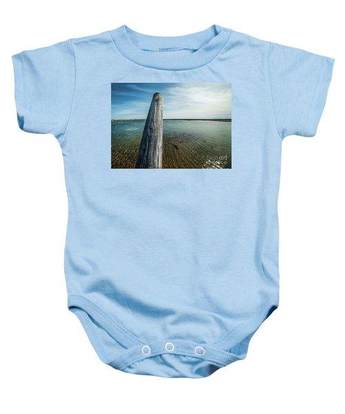 Provincetown Breakwater #2 Baby Onesie