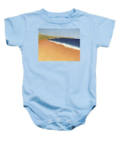 Pt. Reyes Beach Baby Onesie