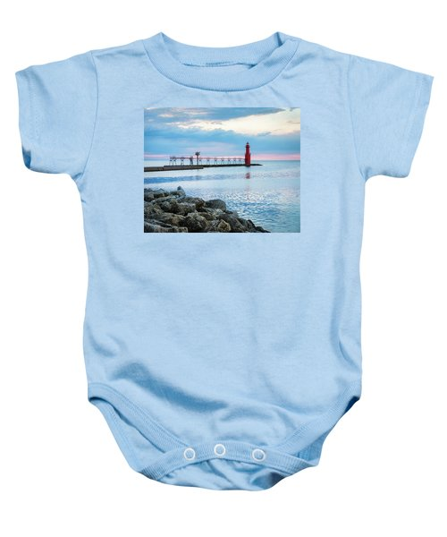 Baby Onesie featuring the photograph Pure Algoma by Bill Pevlor