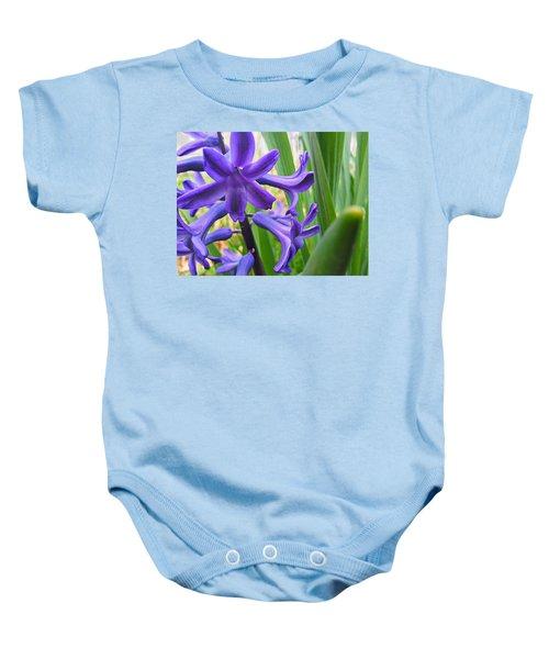 Purple Spring Baby Onesie