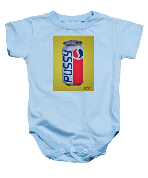 Pussy Pop Can Baby Onesie