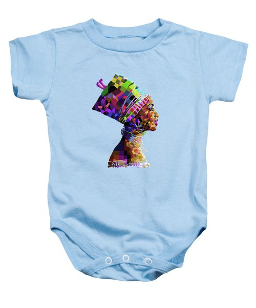 Queen Nefertiti Baby Onesie