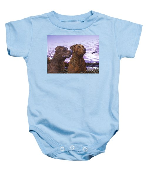 Ragen And Sady Baby Onesie