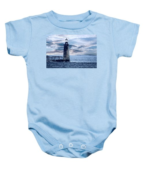 Ram Island Head Lighthouse.jpg Baby Onesie