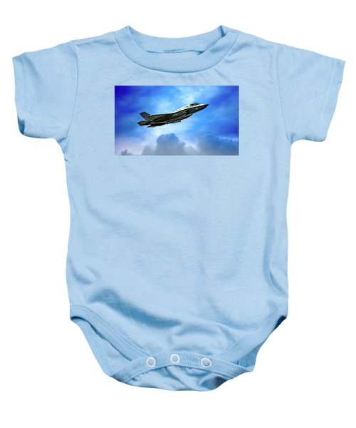 Reach For The Skies Baby Onesie