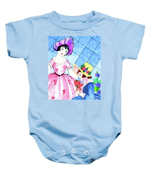 Ready For The Party Baby Onesie