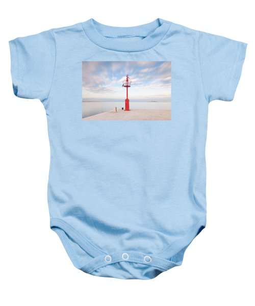 Red Beacon Baby Onesie