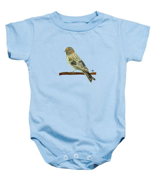 Red-fronted Serin Baby Onesie