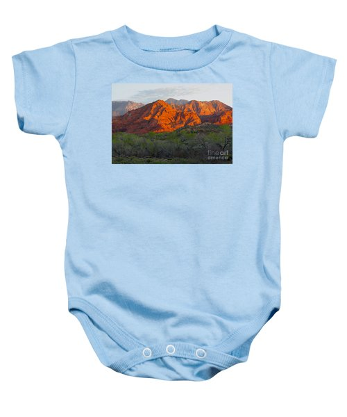 Red Hills Baby Onesie