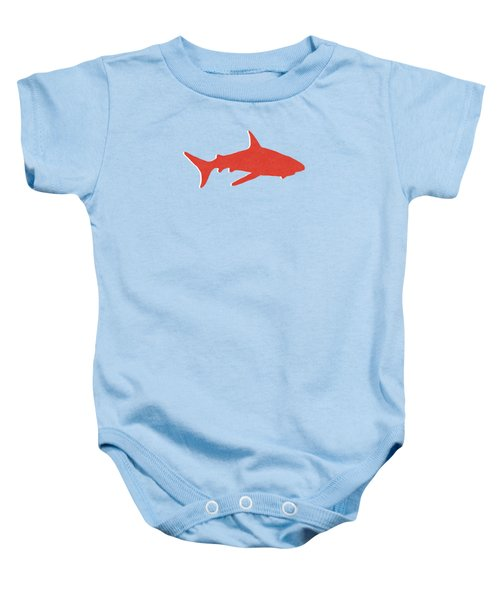 Red Shark Baby Onesie