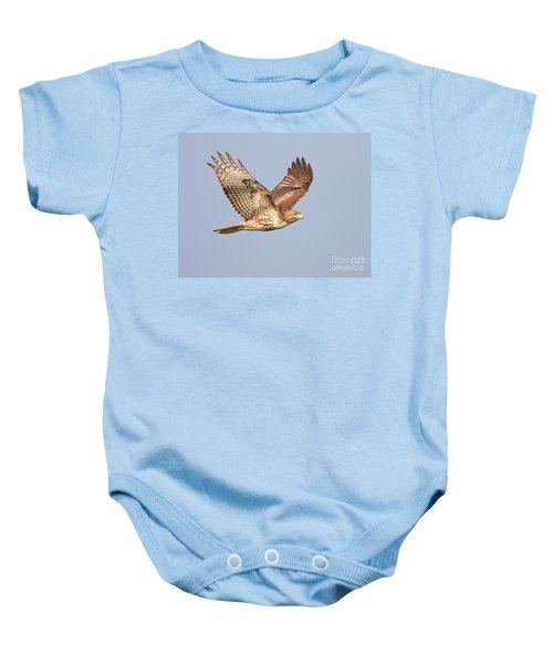 Red Tailed Hawk 20100101-1 Baby Onesie