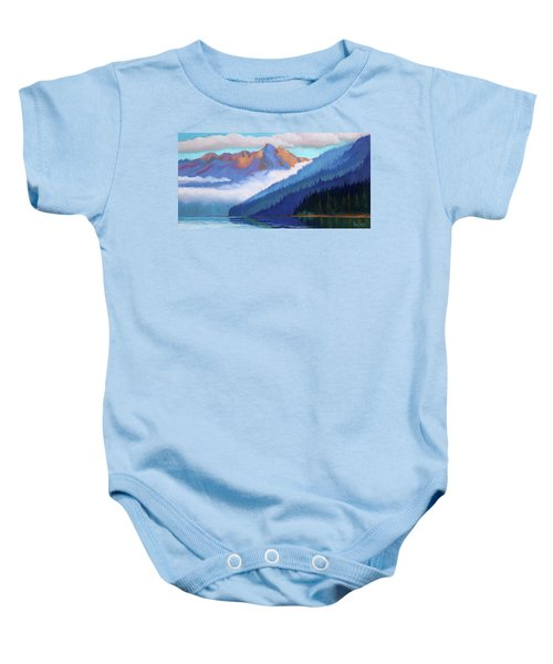Redfish Lake - Low Clouds Baby Onesie