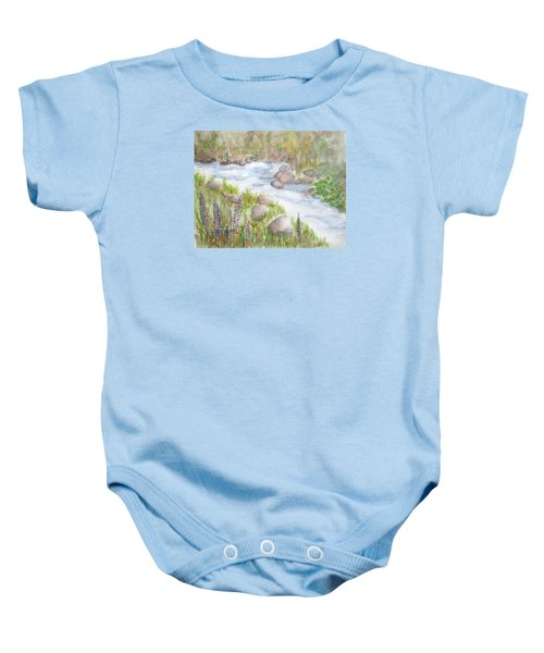 Rest By My Waters Baby Onesie