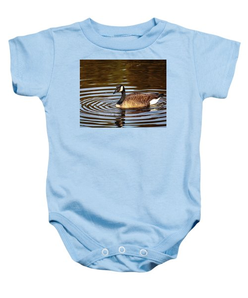 Rings Of Light Baby Onesie
