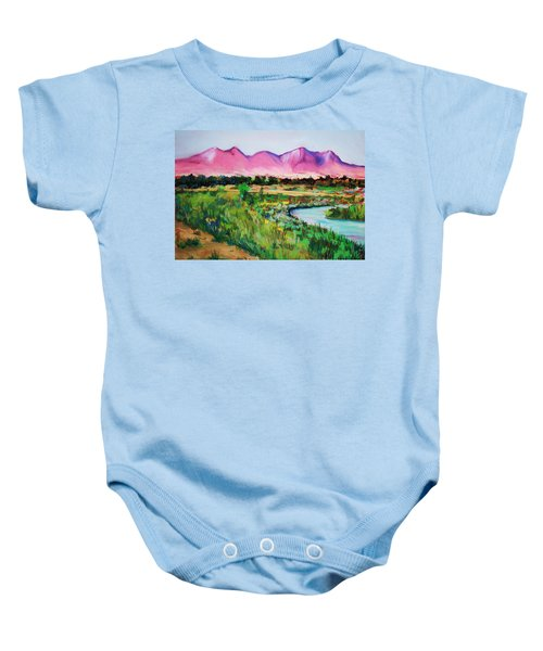 Rio On Country Club Baby Onesie