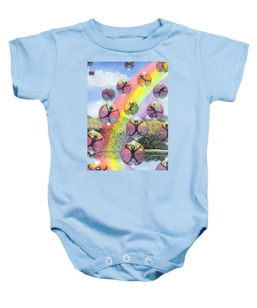 Rising Above It All Baby Onesie