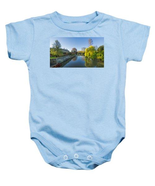 River Cam Baby Onesie