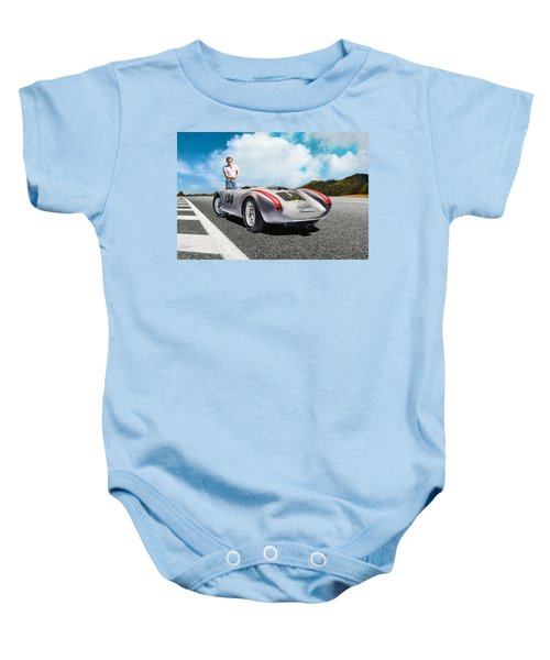 Road To Eternity Baby Onesie by Peter Chilelli